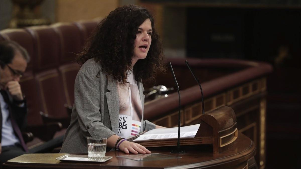 Sofía Castañón, de Unidas Podemos.