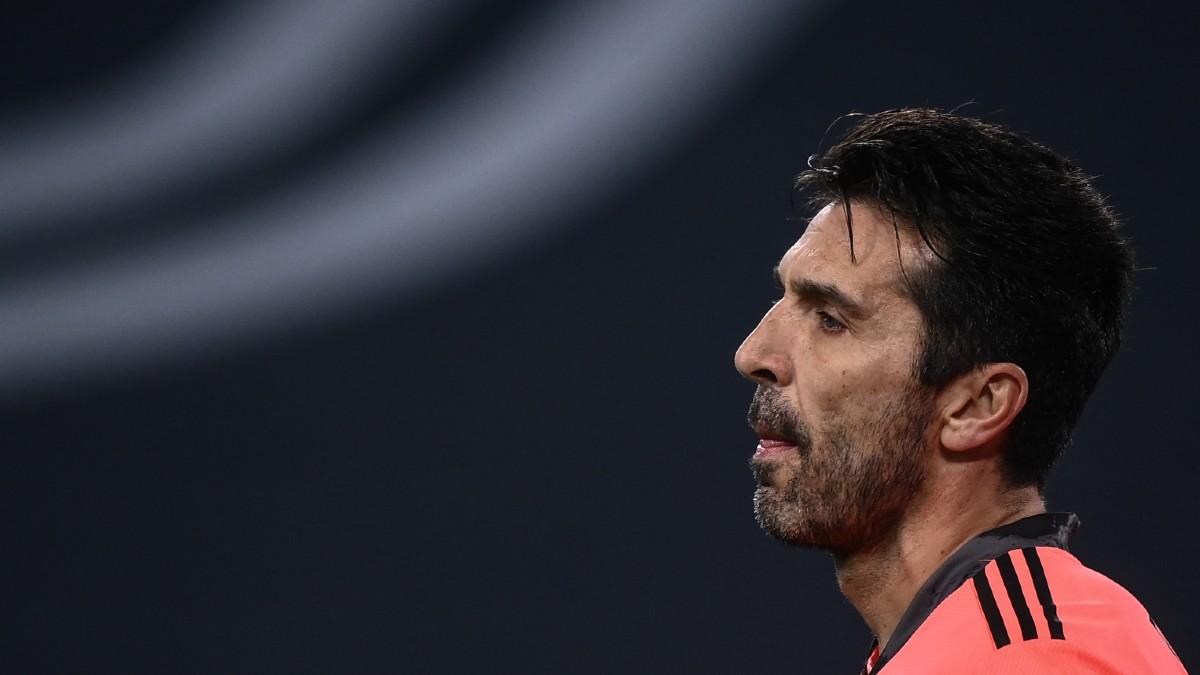 Buffon, en un partido con la Juventus. (AFP)
