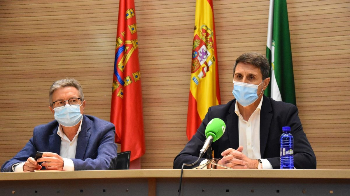 El nuevo delegado del Gobierno en Andalucía, Pedro Fernández (Foto: Ayuntamiento de Baza).