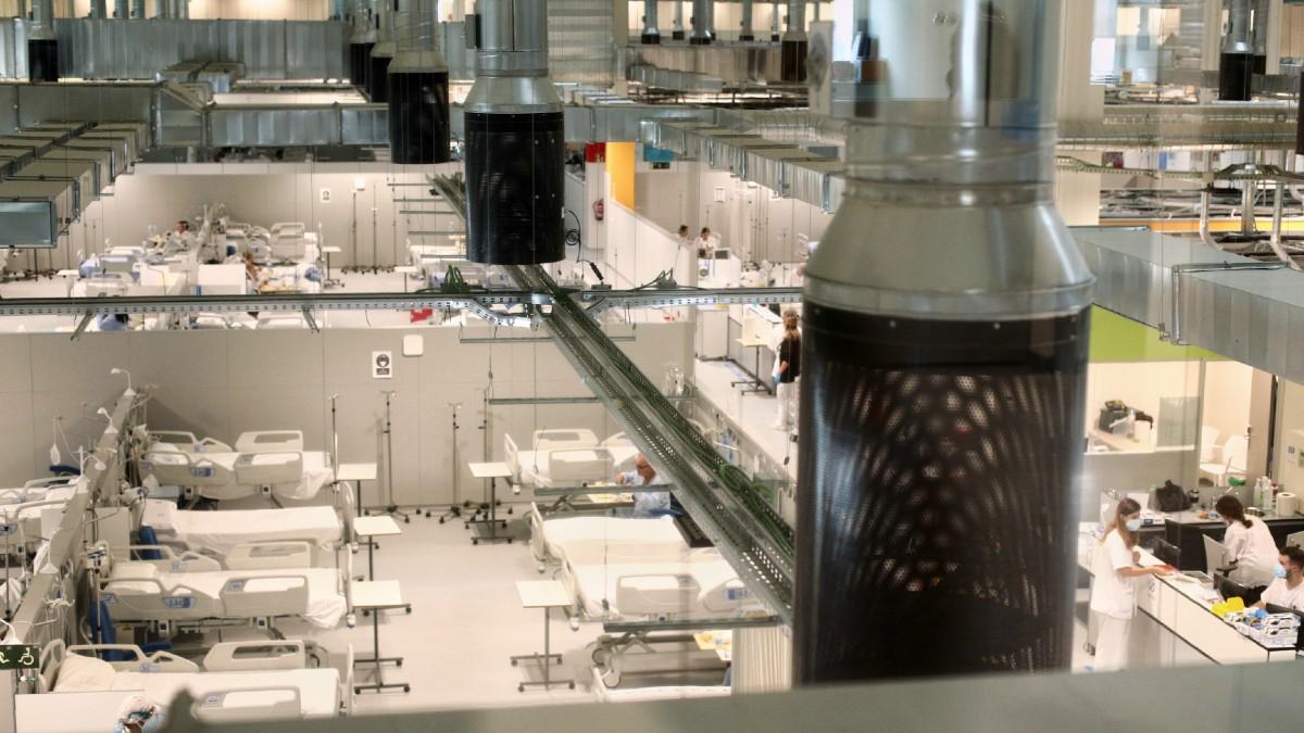 Vista general del Hospital de Emergencias Isabel Zendal en Madrid. (Foto: Europa Press)