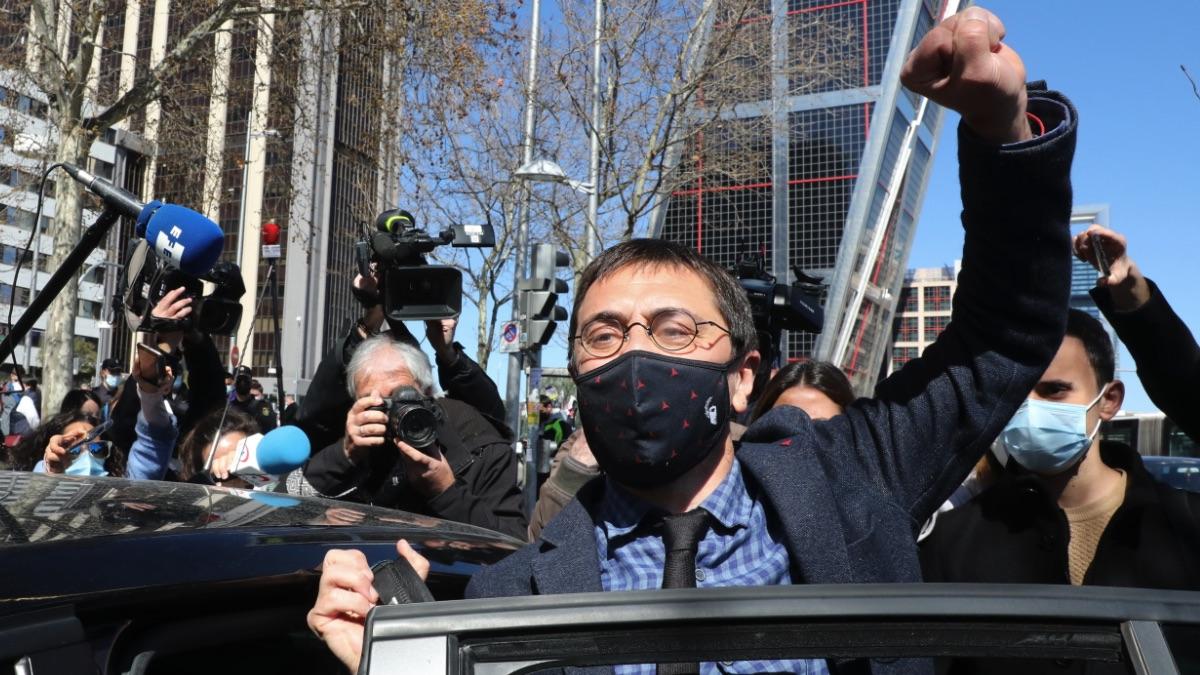 Juan Carlos Monedero. (Foto: Europa Press)