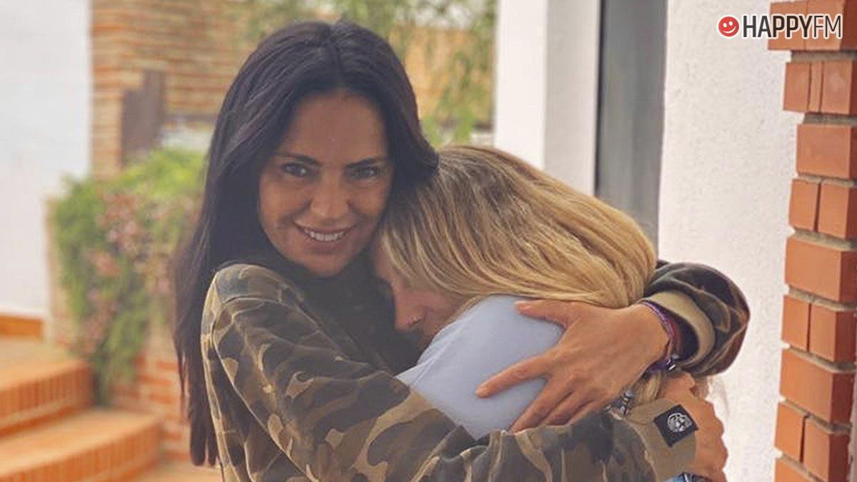 Rocío Flores y Olga Moreno