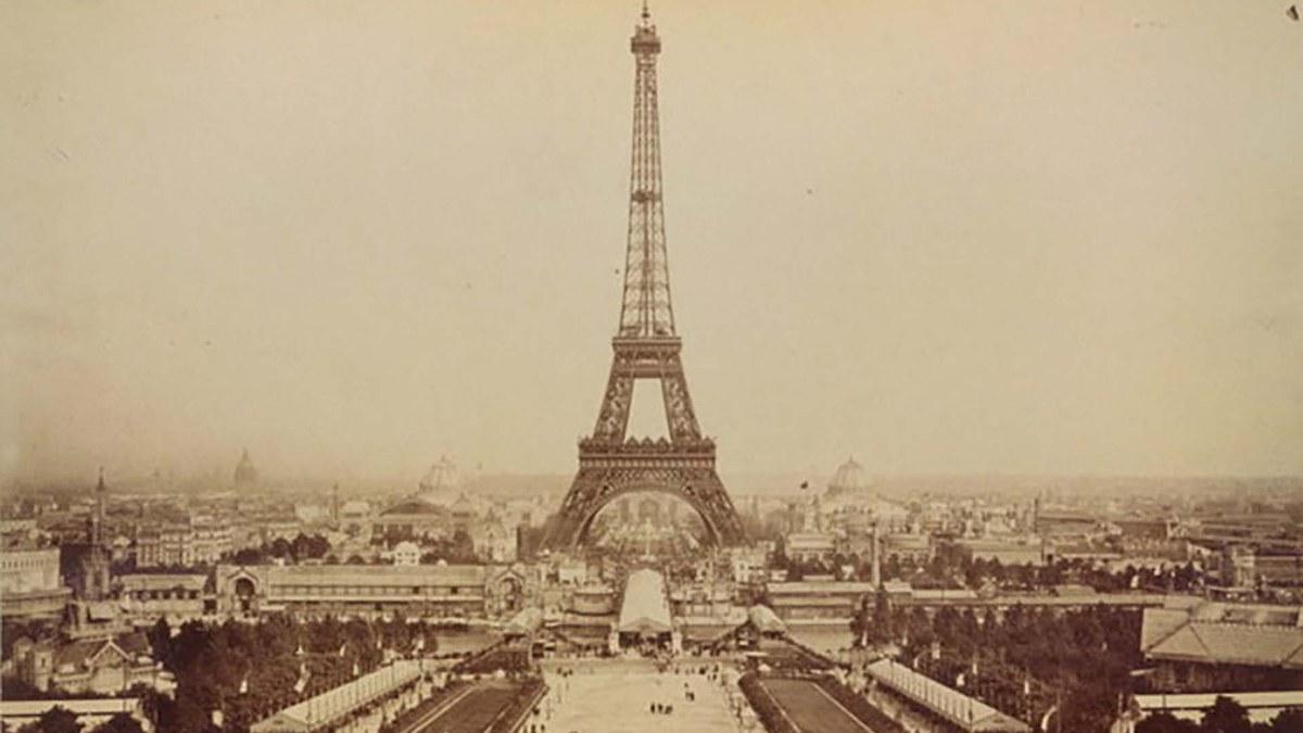 El año que se inauguró la Torre Eiffel