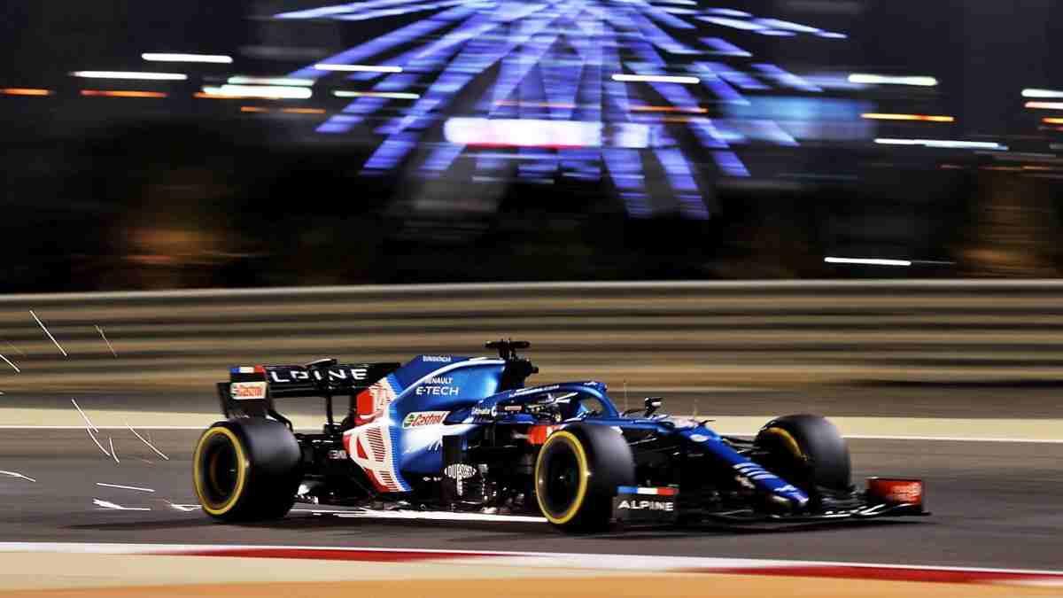 Fernando Alonso en el Gran Premio de Baréin. (@alo_oficial)