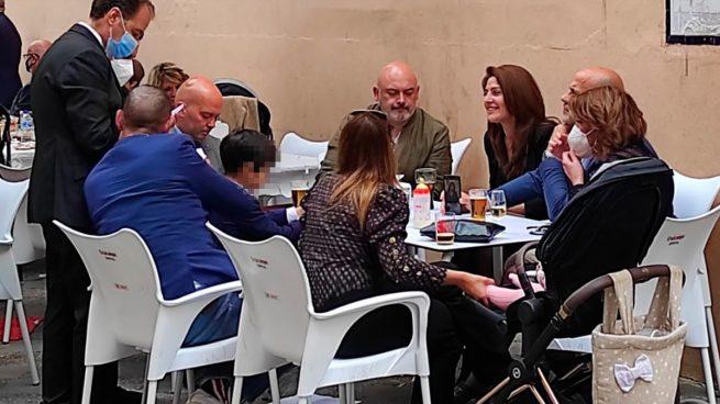 Susana Díaz incumple las medidas anti Covid en Sevilla.