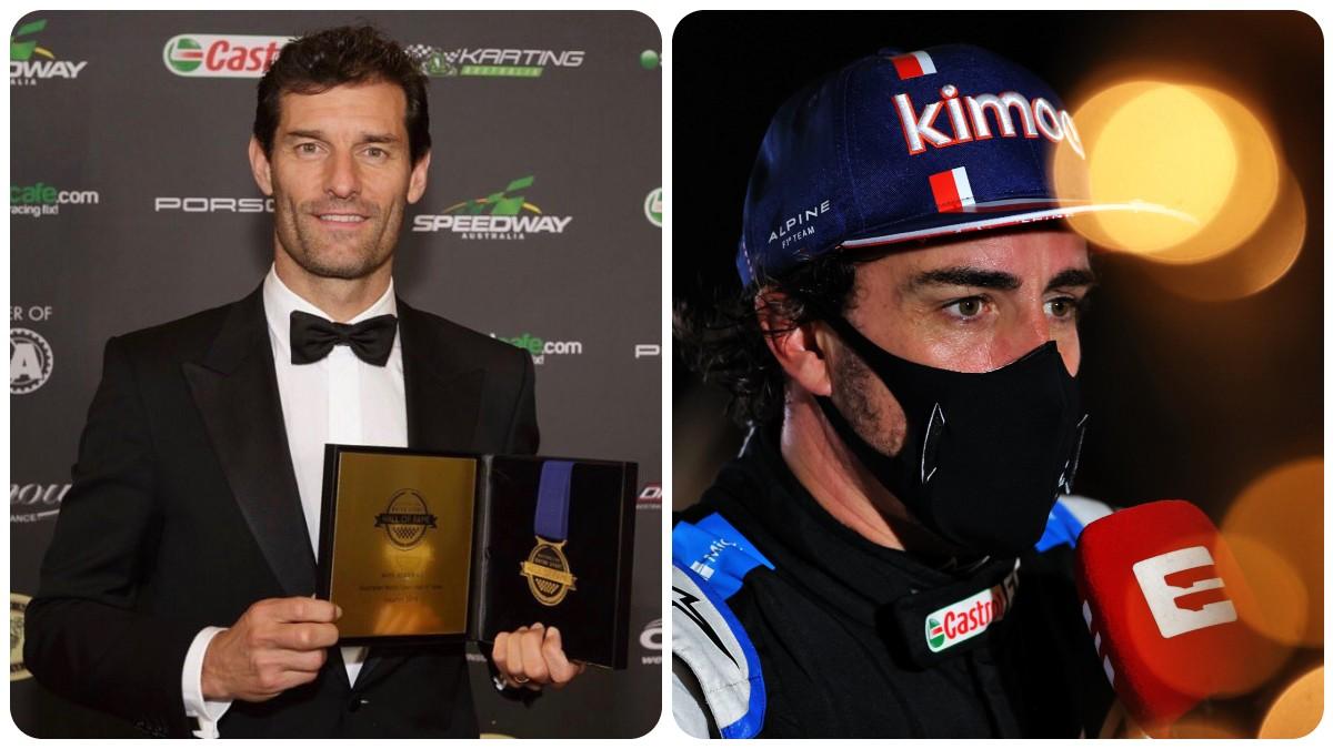 Mark Webber y Fernando Alonso
