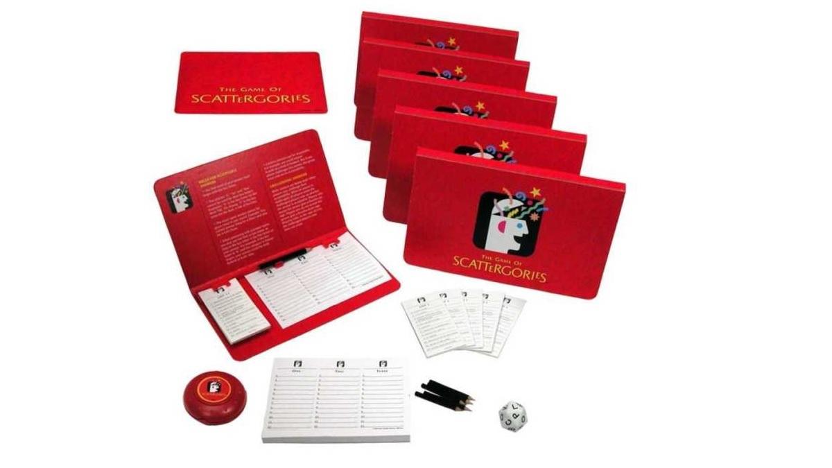 El Scattergories es uno de los juegos de mesa más vendidos