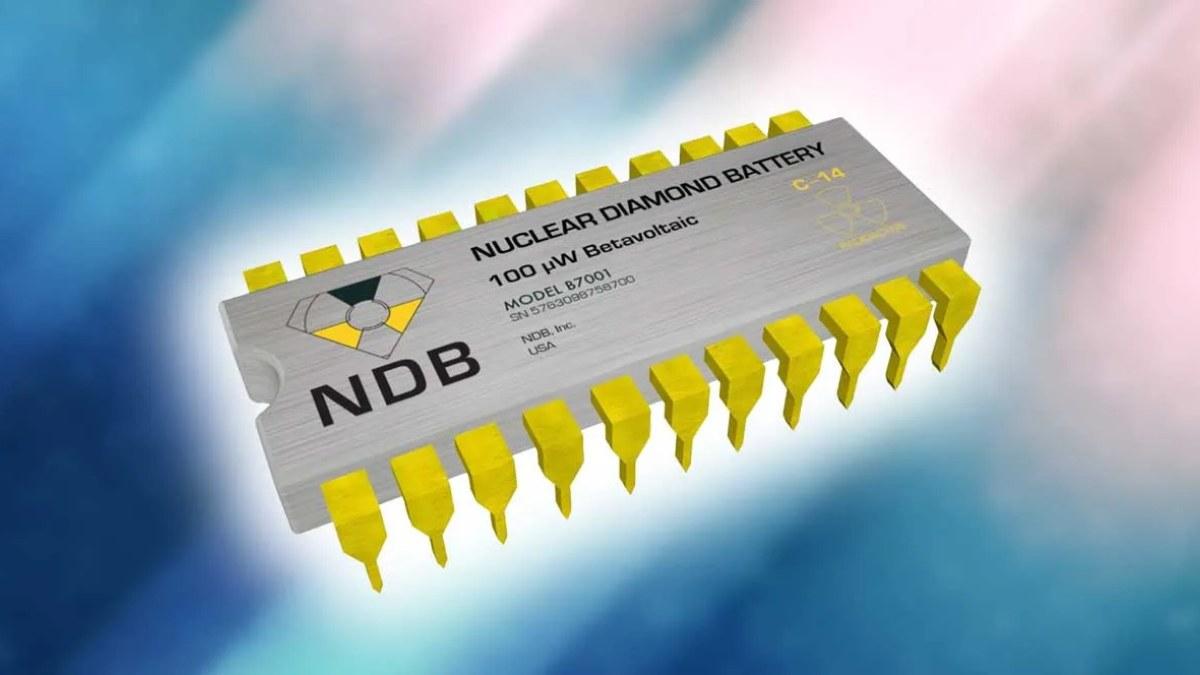 Las baterías de NDB que durarán 28.000 años