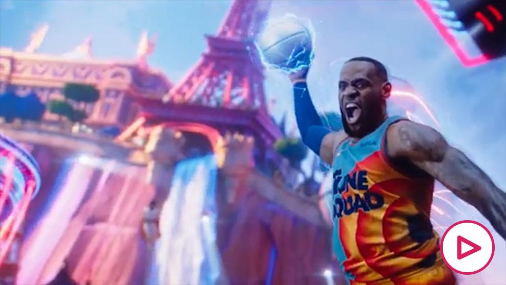 Desvelan el espectacular tráiler de la nueva película de Space Jam con LeBron James