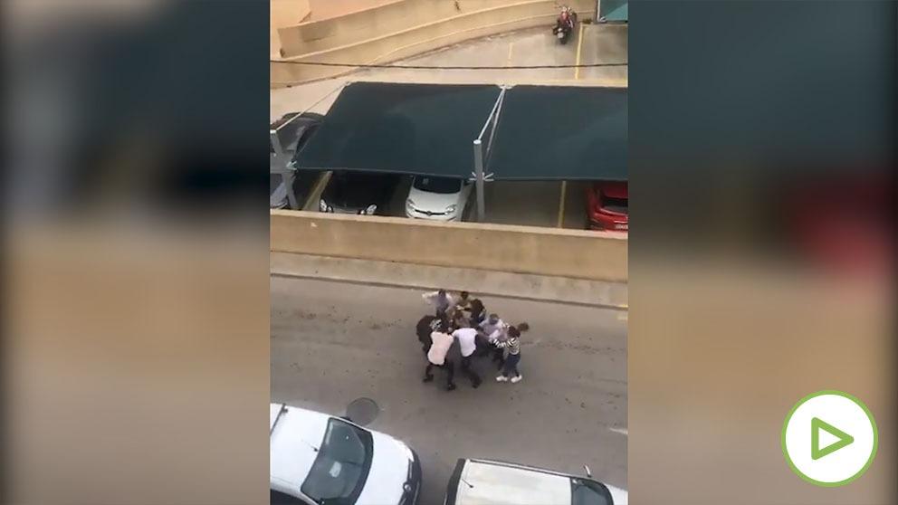 Agresión a varios policías en Mallorca.