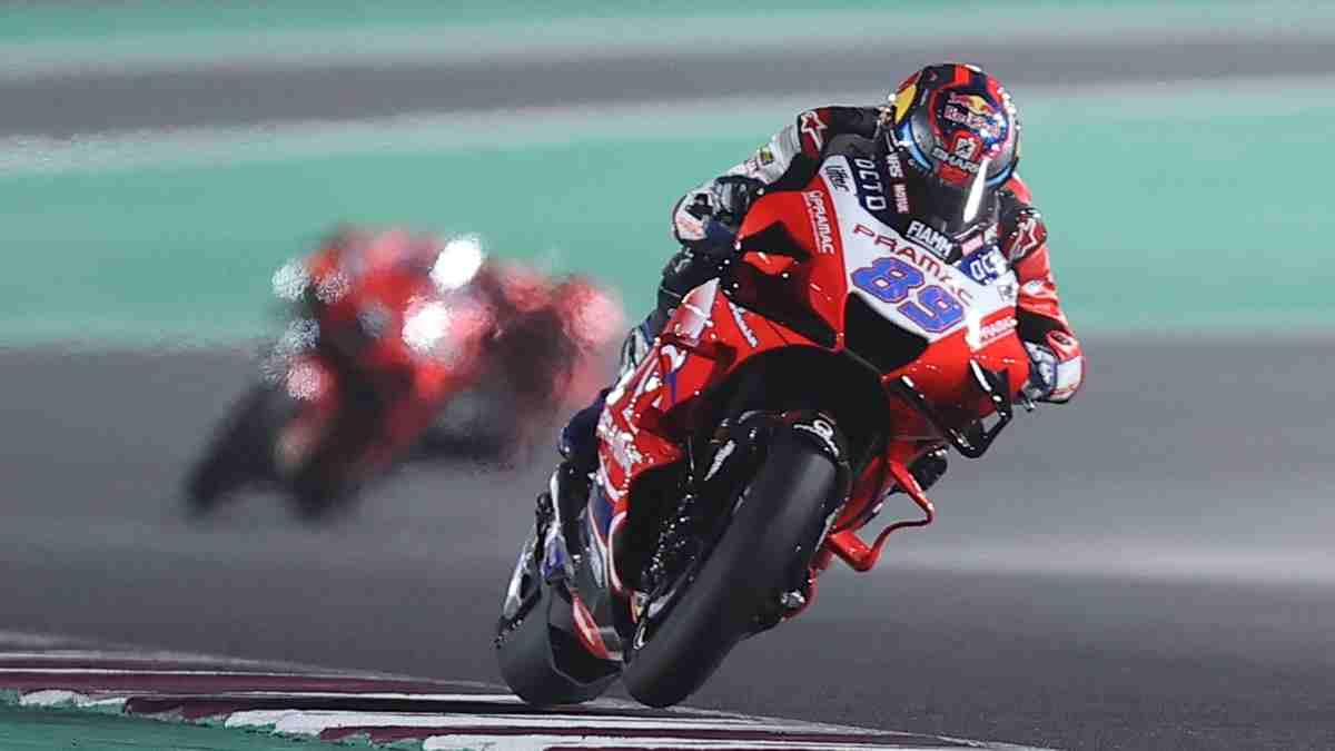 Jorge Martín en el Gran Premio de Doha. (AFP)