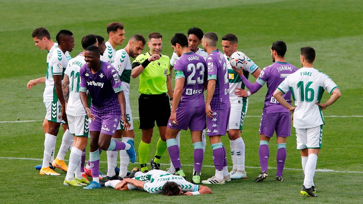 Elche – Betis: resumen, resultado y goles (1-1).