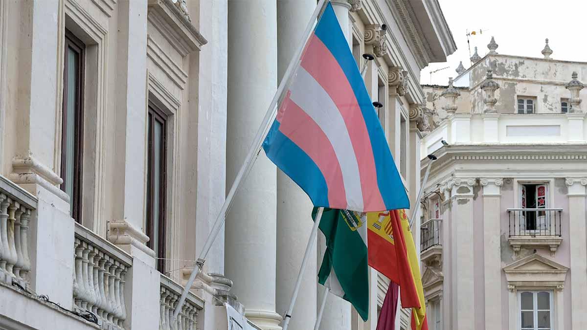 Bandera transexual. Foto: EP