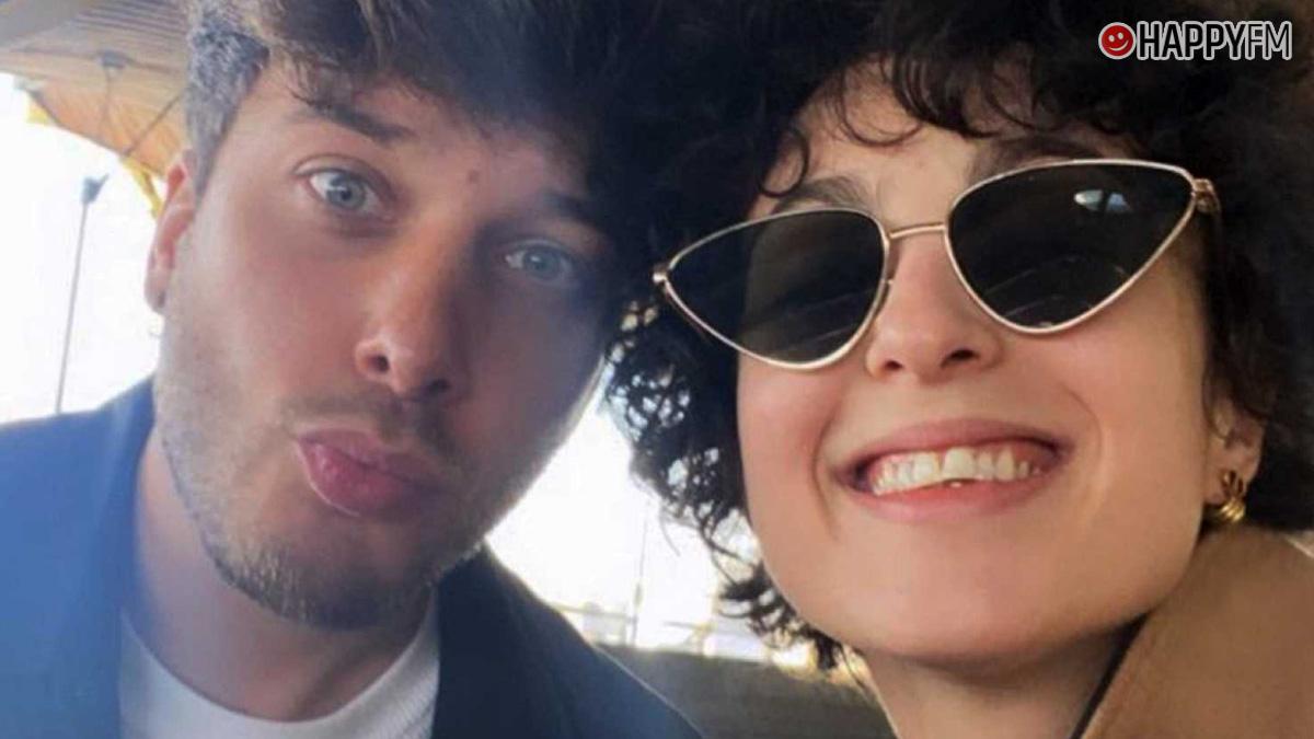 Blas Cantó y Barbara Pravi