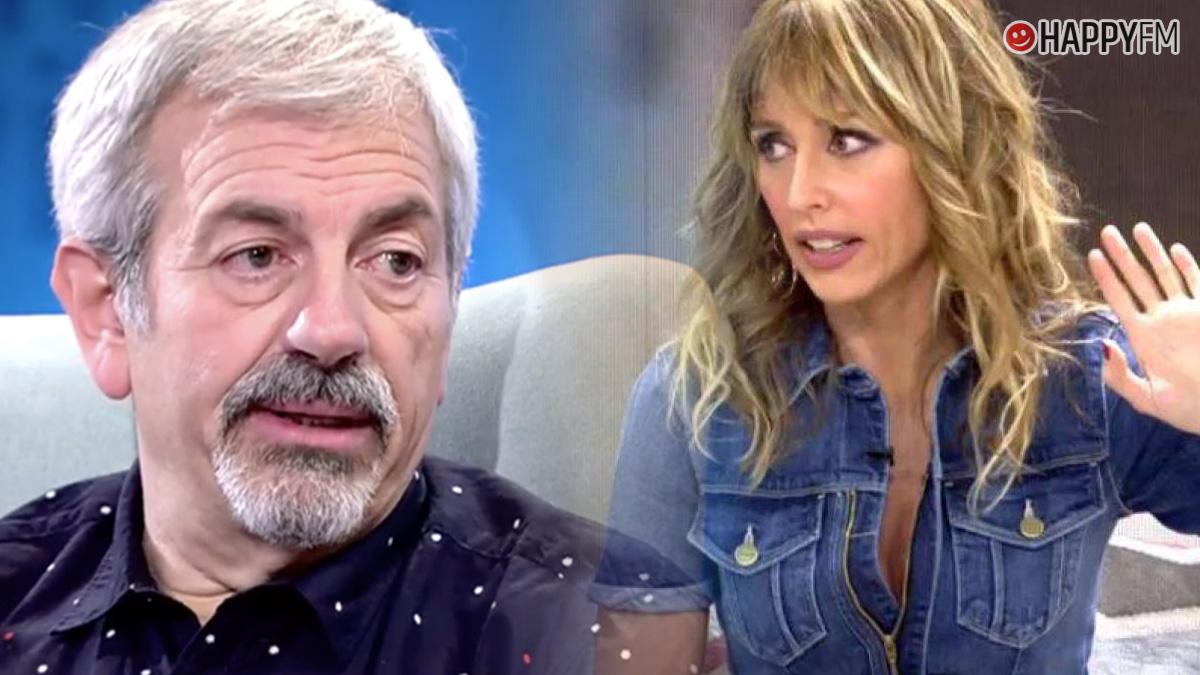 Carlos Sobera y Emma García