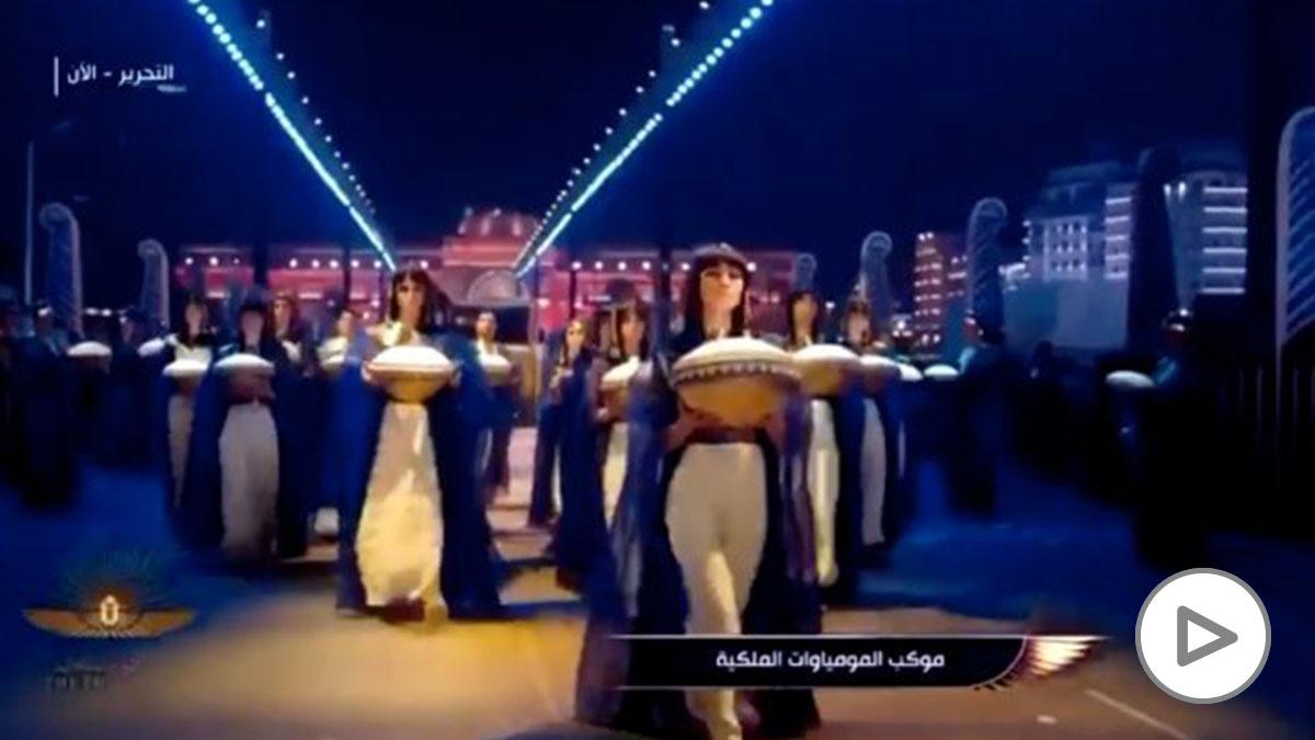 Desfile de faraones en El Cairo