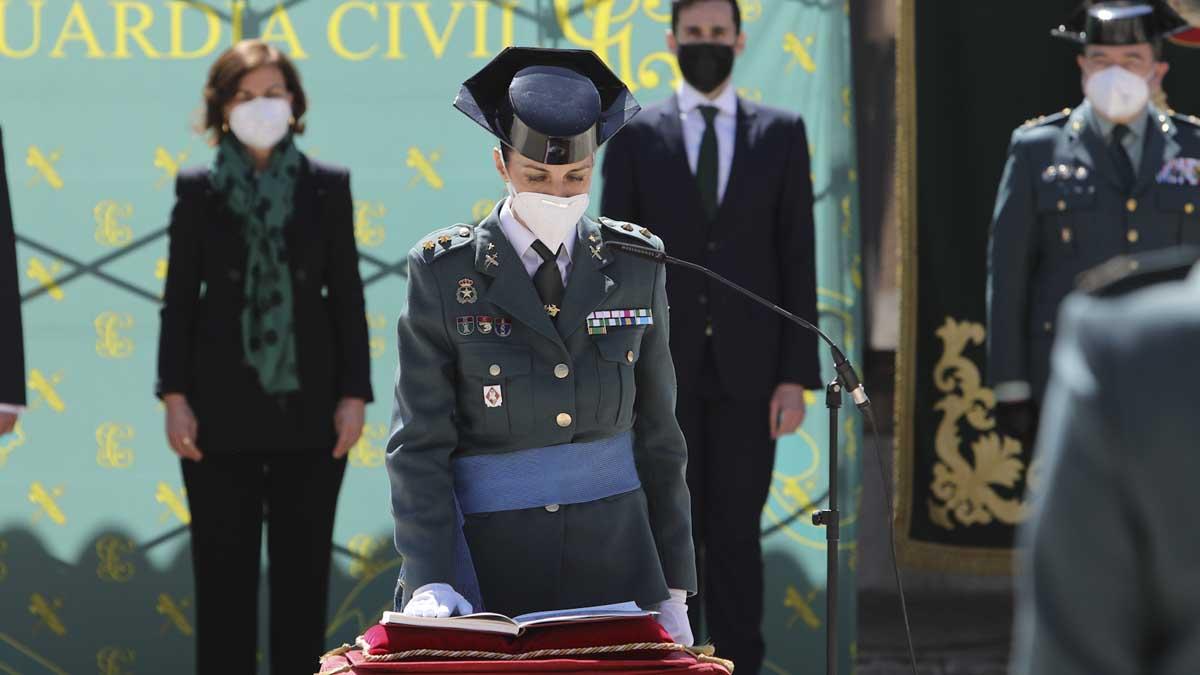 Silvia Gil toma posesión de su cargo. Foto: Europa Press