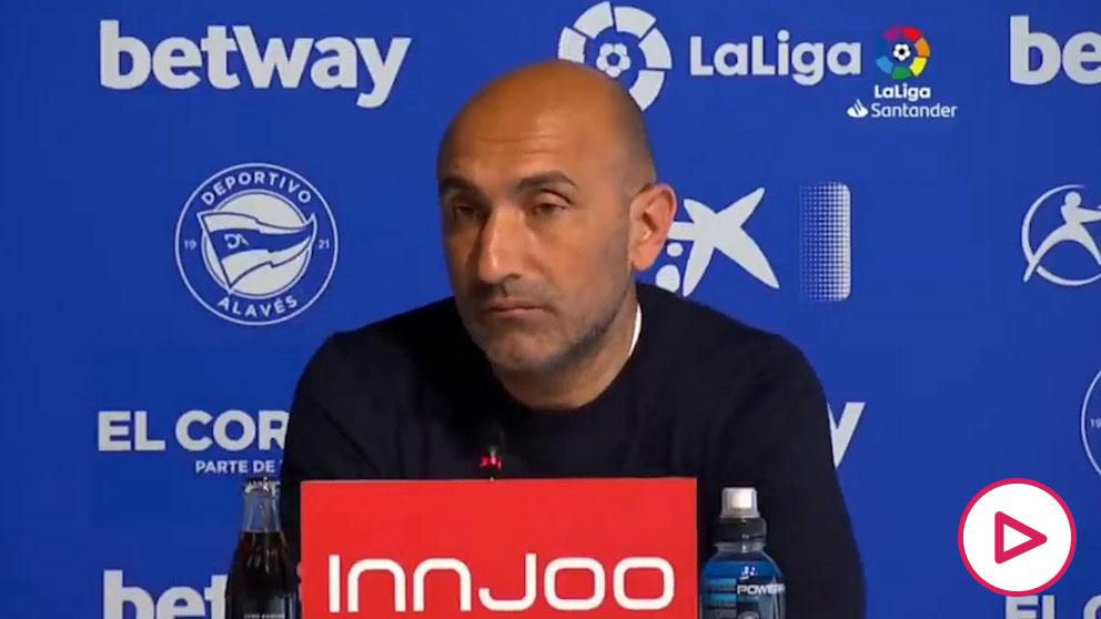 La brutal rajada de Abelardo antes de dimitir como entrenador del Alavés
