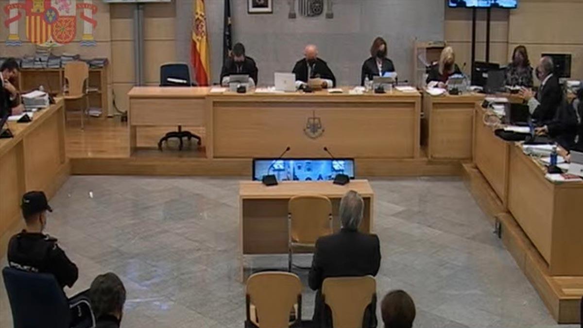 Luis Bárcenas declara en el juicio de la caja 'b' del PP en la Audiencia Nacional