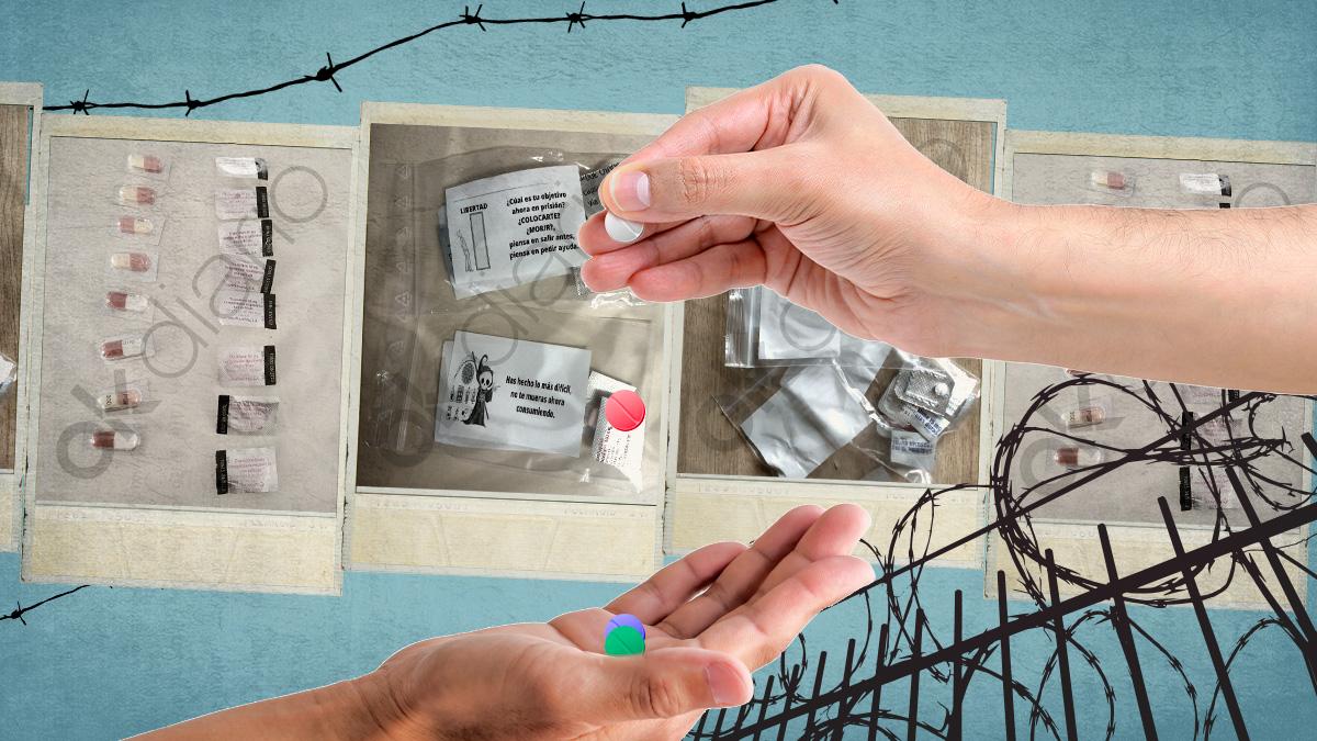 La falta de personal para cubrir los festivos en prisión provoca que a los presos les den la medicación de hasta cuatro días a la vez.