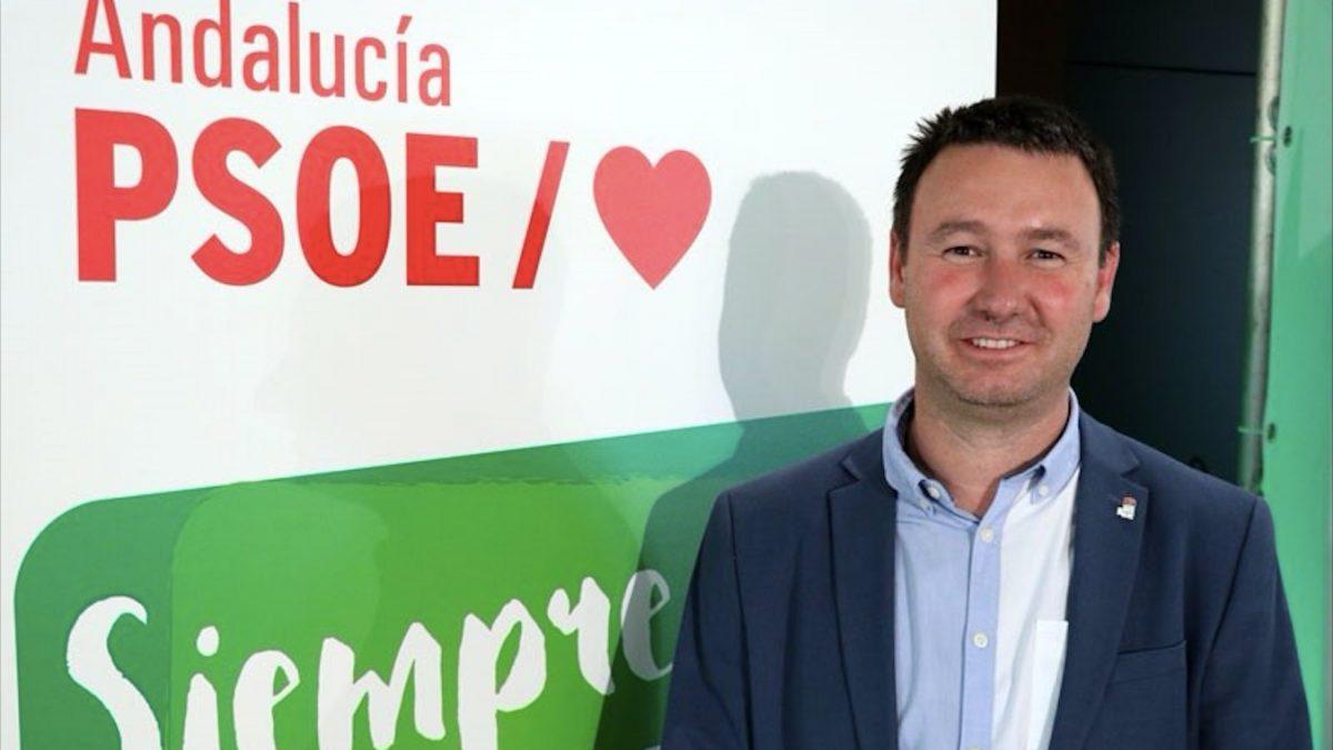 El portavoz del PSOE en el Ayuntamiento de Linares, Daniel Campos (Foto: PSOE de Jaén).