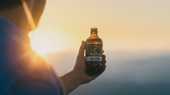 Cerveza 'El Águila' lanza su primera campaña de comunicación: 'saborear tu libertad'