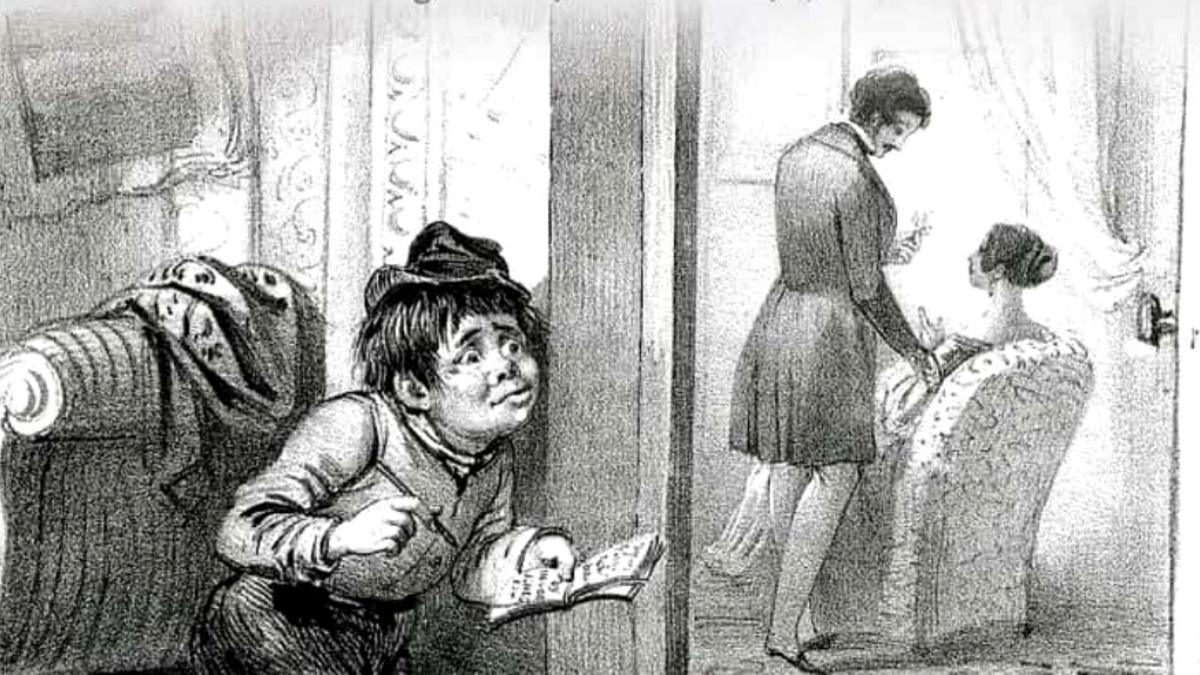 Retrato de Boy Jones en el Palacio de Buckingham