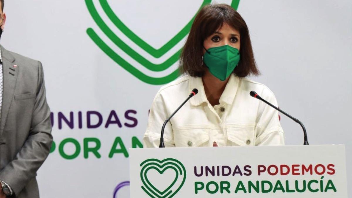 La secretaria general de Podemos Andalucía, Martina Velarde. (Foto: EP)