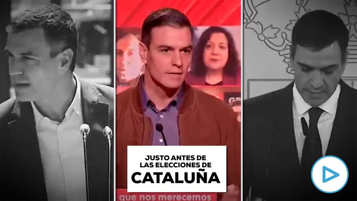 sancPedro Sánchez siempre anuncia el fin del virus en campaña electoral: País Vasco, Cataluña… y ahora Madrid.hez5