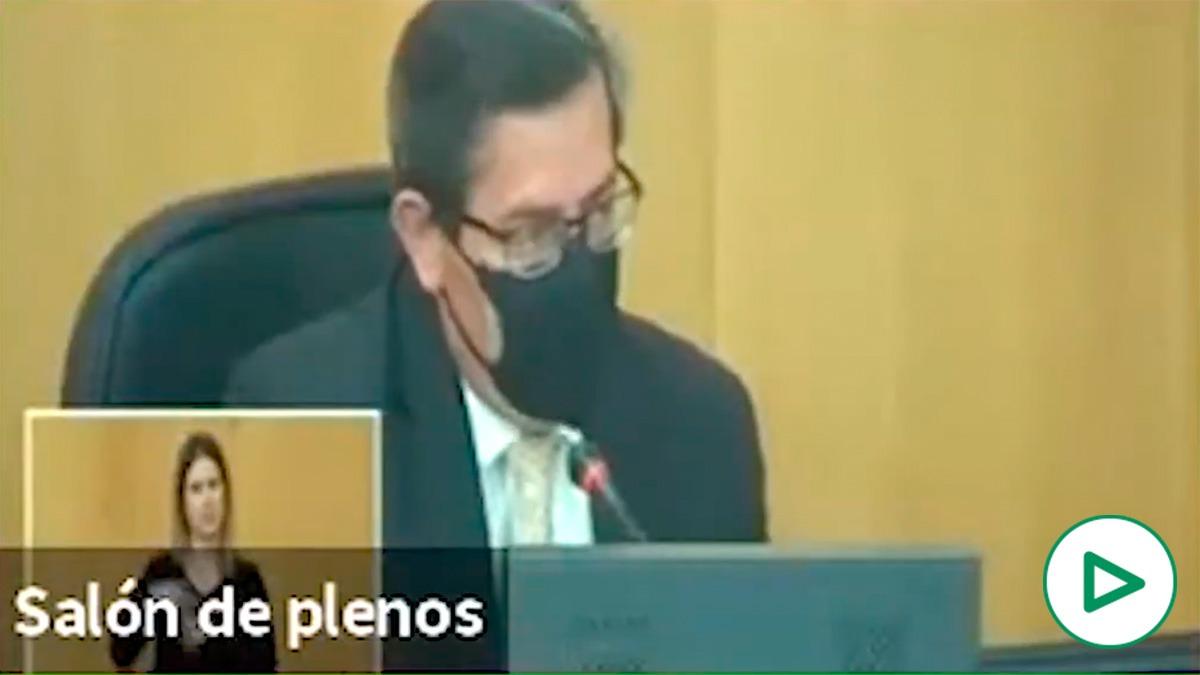 Los ataques machistas del socialista Entrena a una diputada del PP: «No tiene usted vergüenza».