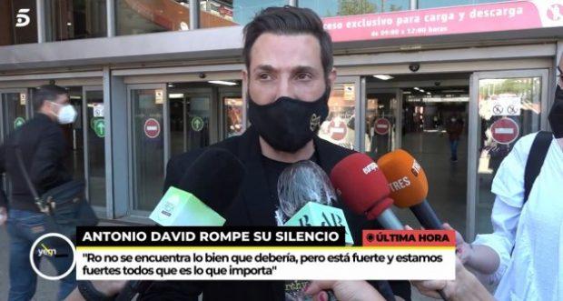 Antonio David Flores habla por primera vez