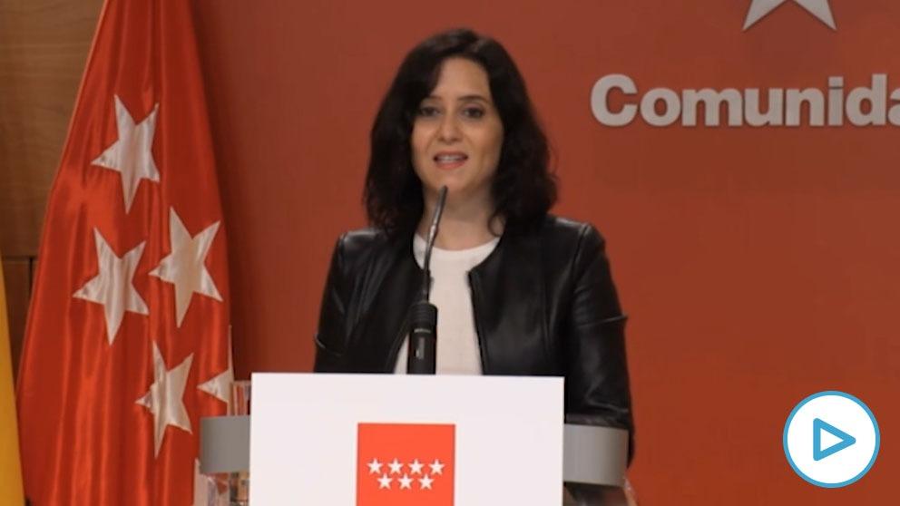 Isabel Díaz Ayuso desenmascara a Pedro Sánchez: «Es sospechoso que no obligue a cerrar Madrid el puente de las elecciones».