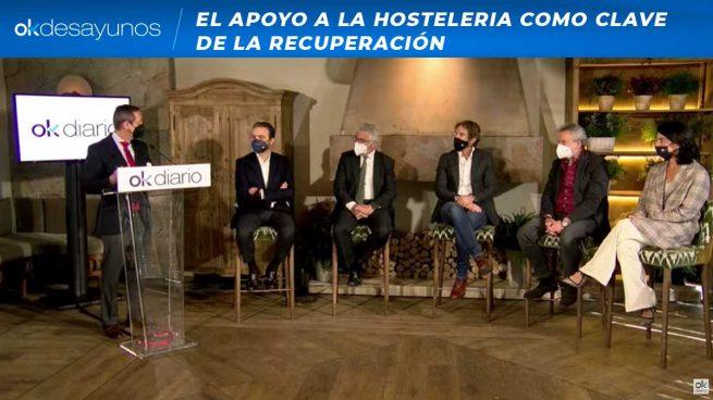 Los hosteleros en los OKDESAYUNOS: «Madrid está siendo nuestro pulmón de oxígeno para poder subsistir»
