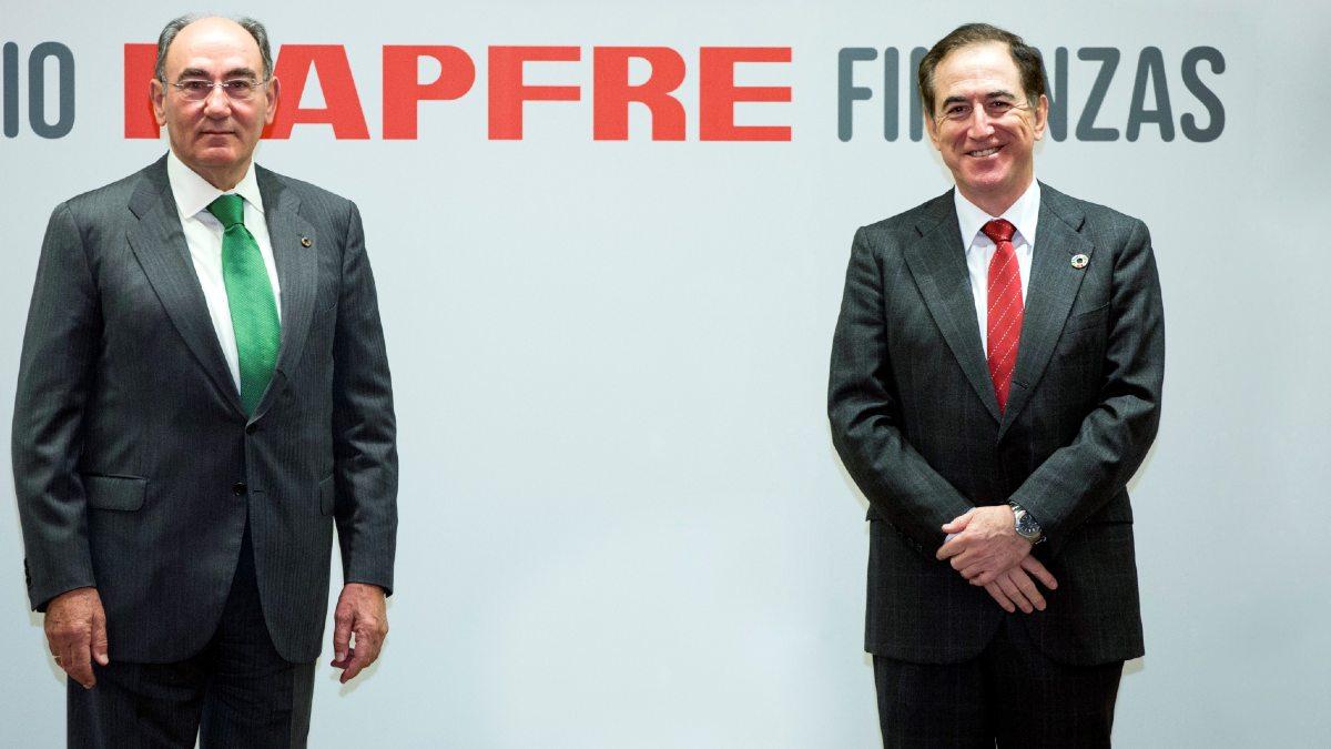 Ignacio Galán y Antonio Huertas, presidentes de Iberdrola y Mapfre