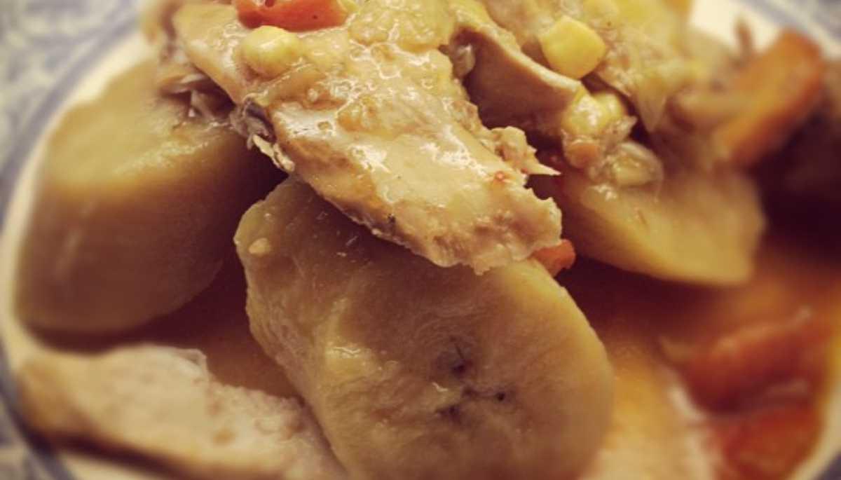 Matoke de pollo con plátano, una receta para probar