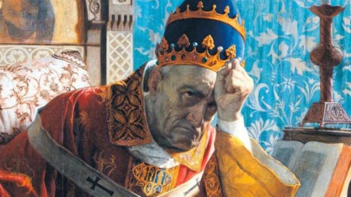 Retrato de Bonifacio VIII