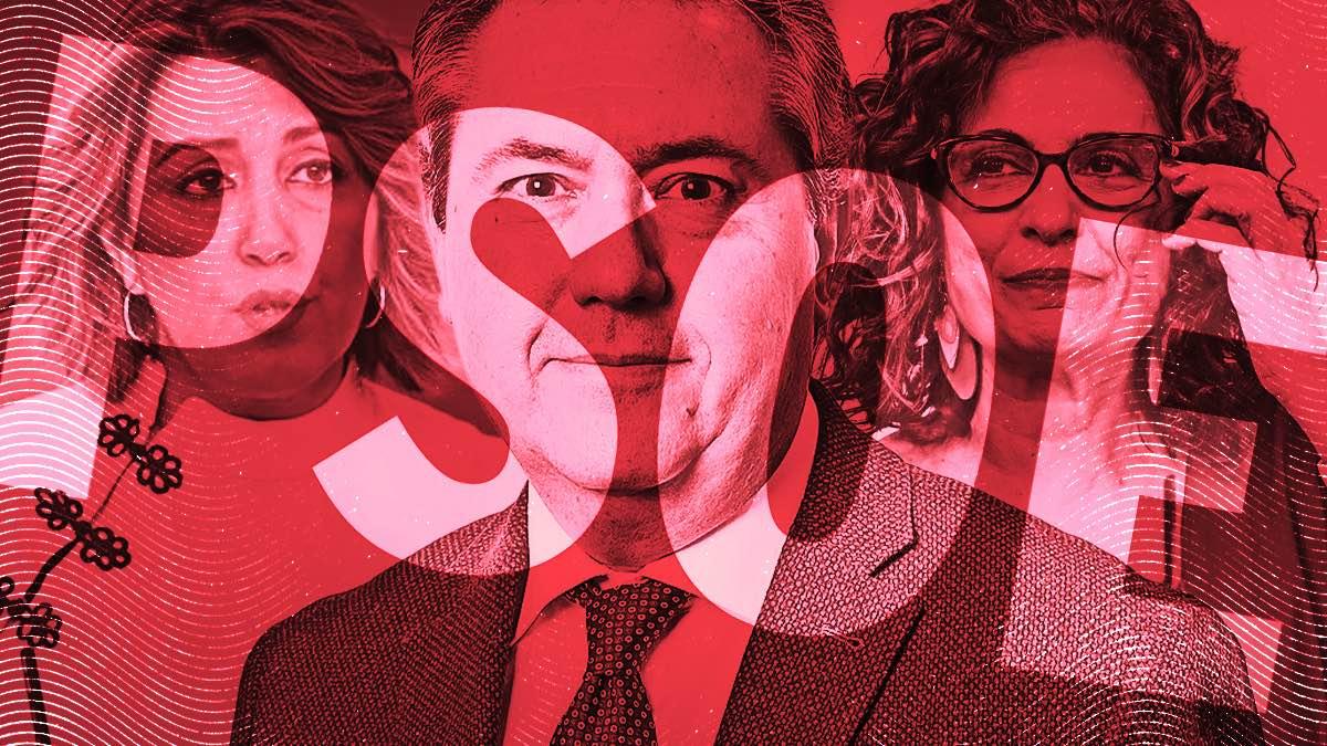 Susana Díaz, Juan Espadas y María Jesús Montero, salpicados por corrupción.