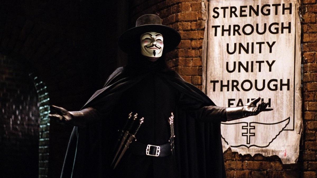 'V de Vendetta' cumple 15 años (Warner Bros)