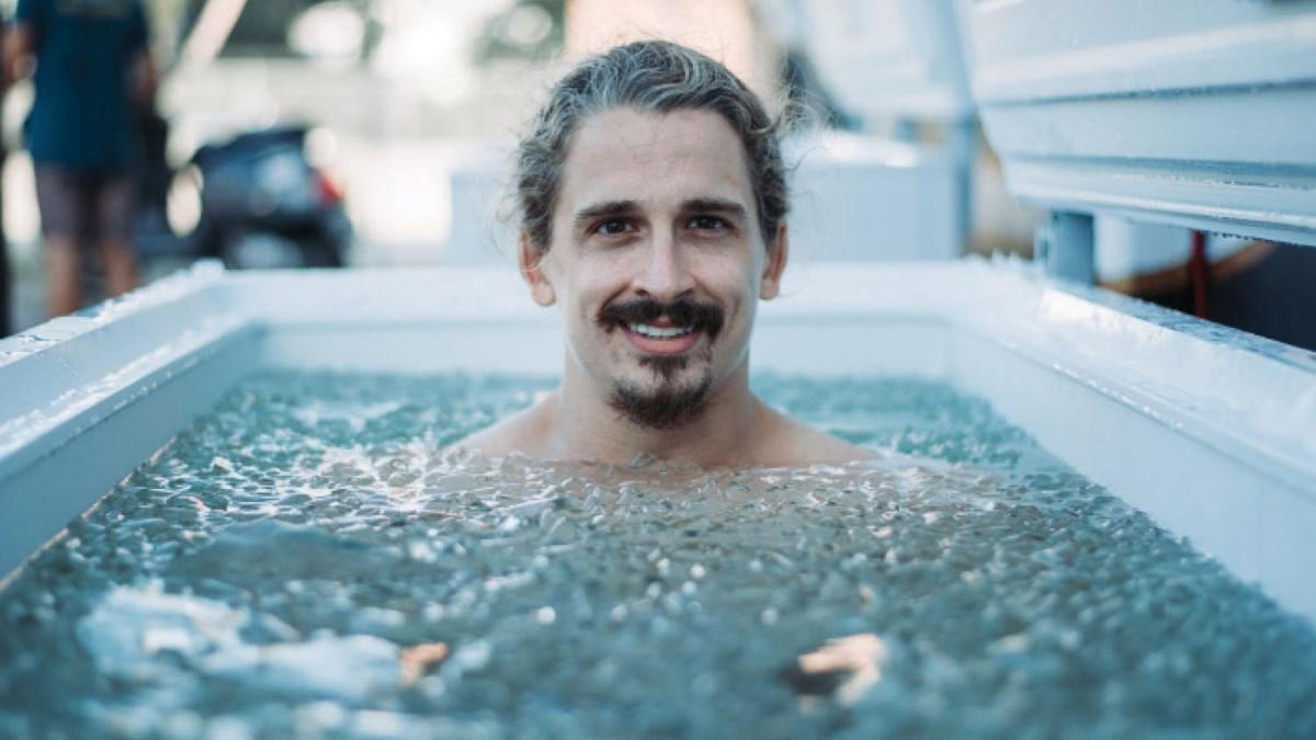 Los baños de hielo son perfectos para relajar los músculos