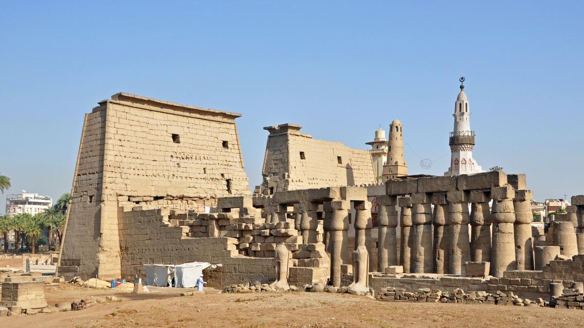 Templo de Luxor en Egipto