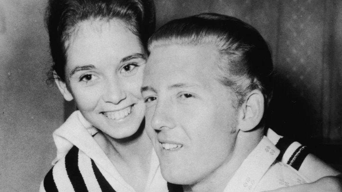 Jerry Lee Lewis con su esposa de 13 años, Myra