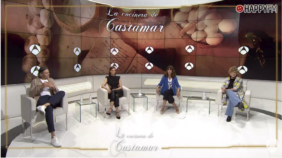 Rueda de prensa de La cocinera de Castamar