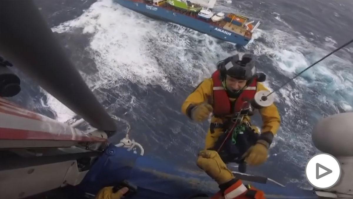 rescate naufragio noruega