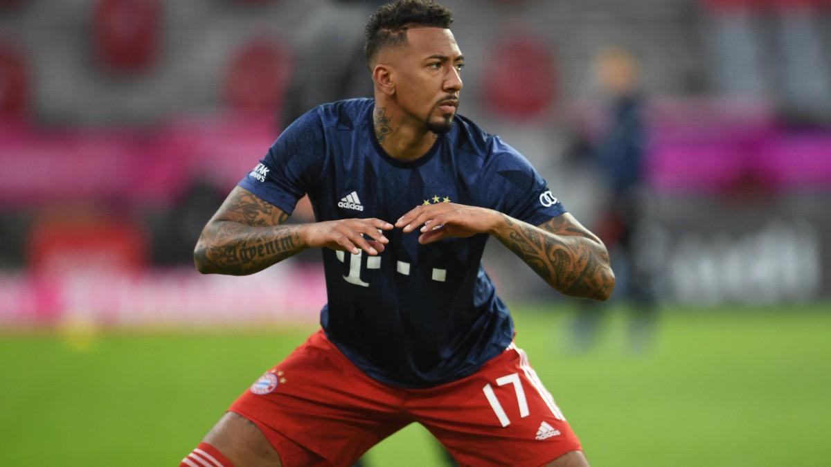 Boateng, en un partido del Bayern. (AFP)