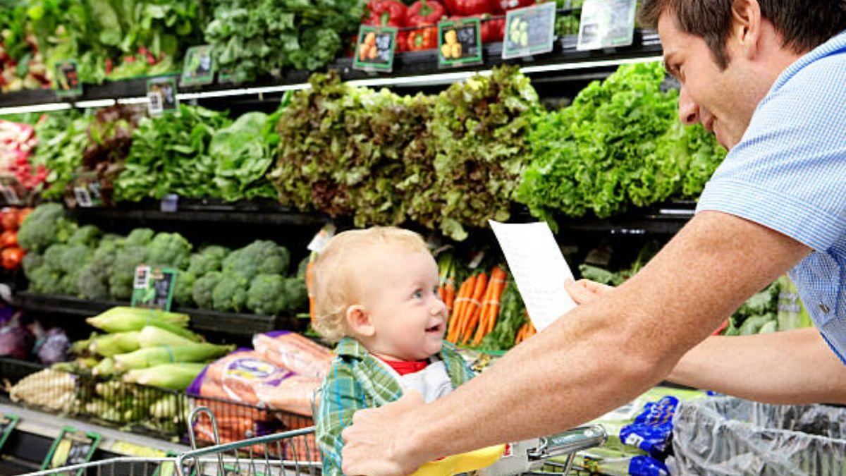 Pautas para ir a la compra con el bebé