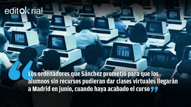 Y tan virtuales, Pedro Sánchez