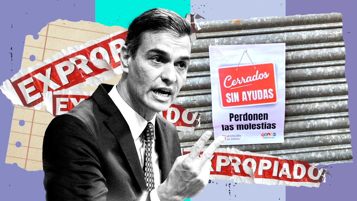 Hosteleros piden a Pedro Sánchez el justiprecio por expropiar sus negocios en estado de alarma.