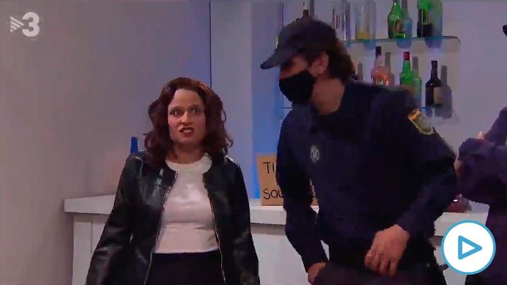 Gag de TV3 sobre Isabel Díaz Ayuso y José Luis Martínez Almeida