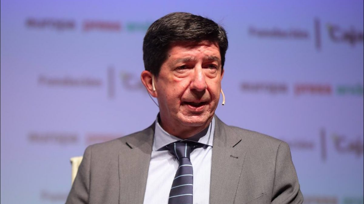 Juan Marín (Cs), vicepresidente de la Junta de Andalucía.