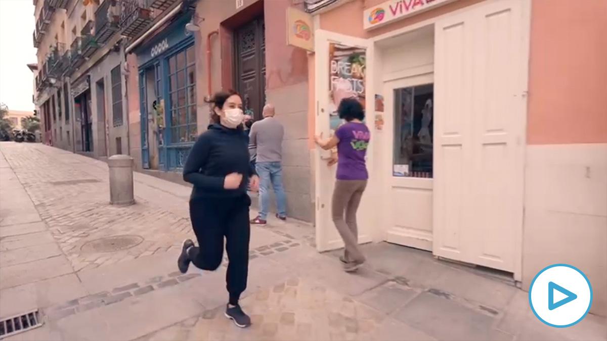 Vídeo de campaña de Isabel Díaz Ayuso.